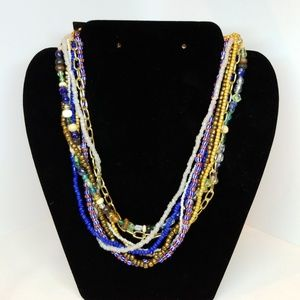 Jewelry - Multistrand beaded necklace